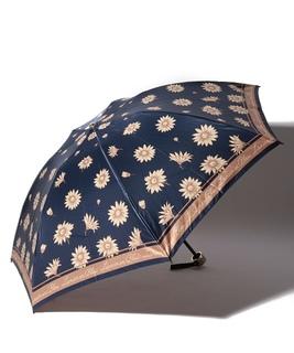 LANVIN ec Blue(ランバンオンブルー) 折りたたみ傘 マーガレット