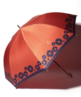 LANVIN en Blue(ランバン オン ブルー) 耐風傘【サテンマーガレット】