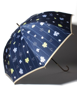LANVIN en Blue(ランバン オン ブルー) 耐風傘【花と海】