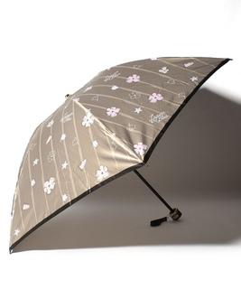 LANVIN en Blue(ランバン オン ブルー) 折りたたみ傘【花と海】