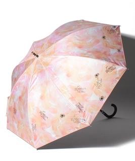 LANVIN en Blue(ランバン オン ブルー)晴雨兼用日傘 箔×オーバーロック