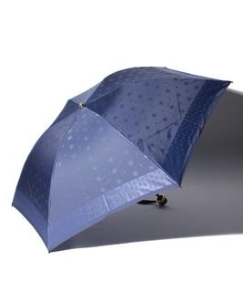 LANVIN en Blue(ランバン オン ブルー)折りたたみ傘 カチオンジャガード