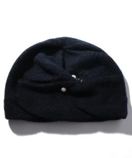 カシミヤグラデーションワッチ ニット帽