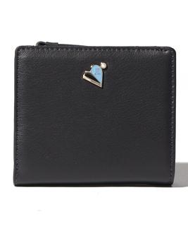 ミネット Lファスナー2つ折り財布