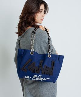 【オフィシャルウェブショップ限定】グログランロゴキャンバスバッグ