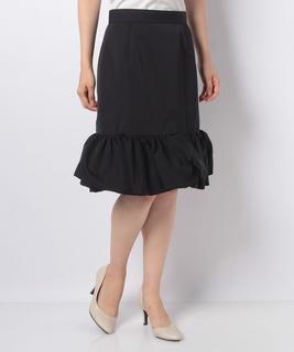 バルーンヘムグログランスカート