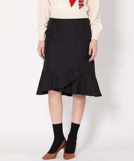 フレアヘムスカート