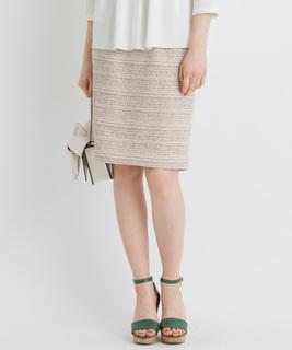 【セットアップ対応商品】ツイードスカート