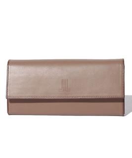 バイカラー長財布