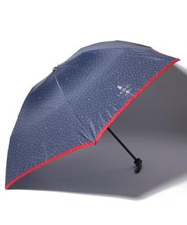 ドット&スター柄折りたたみ傘
