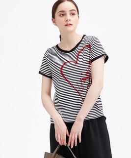 ハートロゴTシャツ