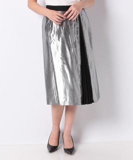メタリックスカート