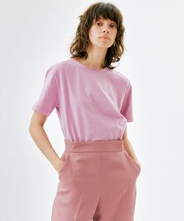 ボタニカルダイTシャツ