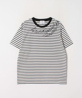 エンブロイダリーロゴTシャツ
