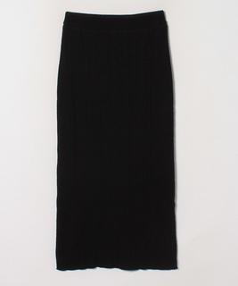 【セットアップ対応商品】ランダムリブタイトニットスカート