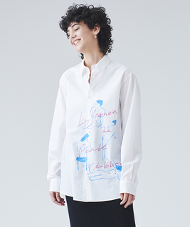 Yuko SaekiコラボBODYシャツ