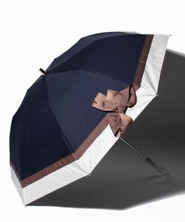 バイカラーリボン折り畳み傘