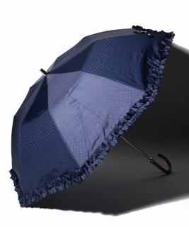 リボン柄折りたたみ傘