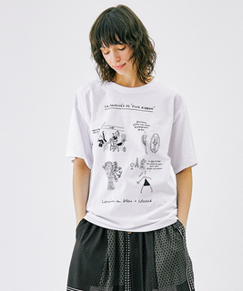 SoledadBraviコラボプリントTシャツ