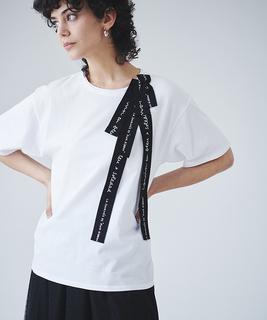 SoledadBraviコラボロゴリボンTシャツ