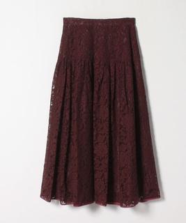 レースギャザースカート