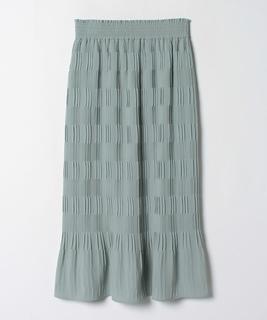 ジョーゼットプリーツタイトスカート