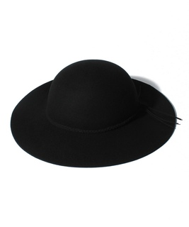 シンプル女優帽