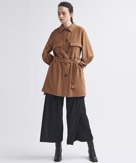 ベルテットシャツジャケット