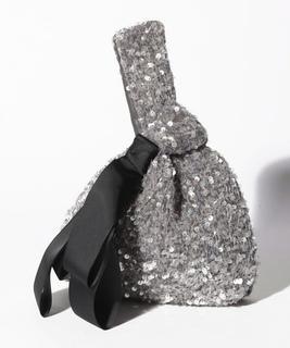 スパンコールハンドバッグ