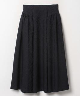ペイズリージャカードスカート