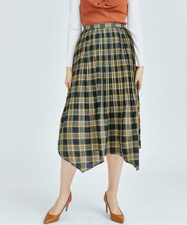 ブロードプリーツスカート