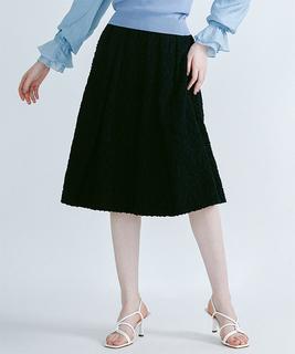 ジャカードギャザースカート