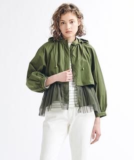 チュールペプラムジャケット