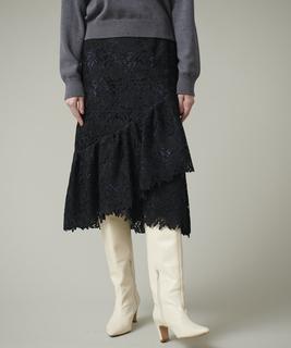 【セットアップ対応商品】レーススカート