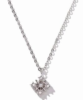 セサンパ 星モチーフダイヤモンドネックレス