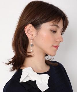 【期間限定プライス】セサンパ パヴェボールイヤリング