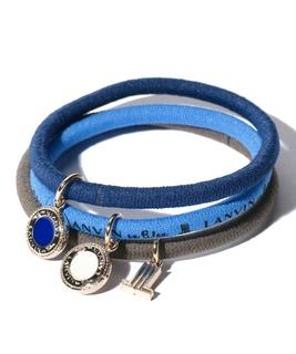 LANVIN en Bleu ポニー ブレス セット