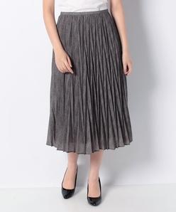 【セットアップ対応】モナリザグレンチェックプリント プリーツスカート