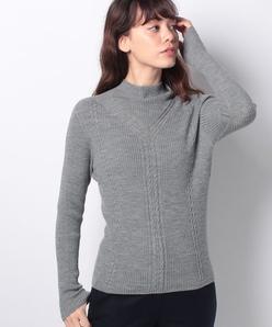 ホールガーメント ハイネックセーター