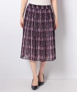 【セットアップ対応】NEON 水玉幾何柄プリント スカート