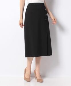 【セットアップ対応】 ウールナイロンポンチ スカート