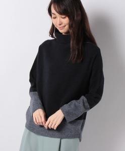 12G ウールカシミヤ タートルネックセーター