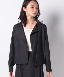 【セットアップ対応】シルクウールデニムジャケット