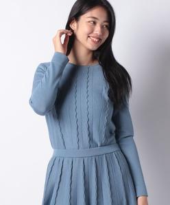【セットアップ対応】14G ミラノ×天竺セーター
