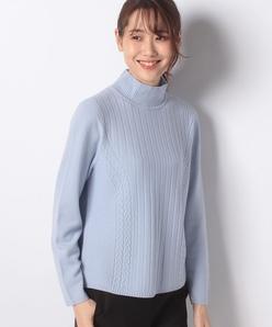 12G ホールガーメント ハイネックセーター