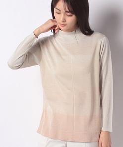 16G シルクラメ プレーティングセーター