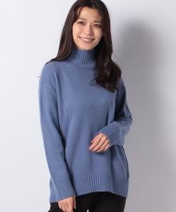 エアリーシャギー ハイネックセーター