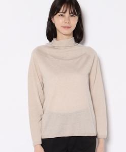 ホールガーメント ボトルネックセーター
