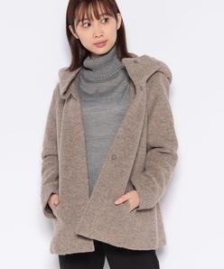 フ―テッドジャケットコート