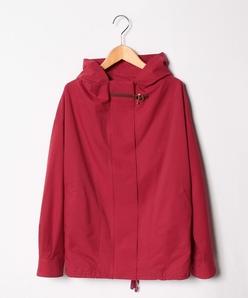 【大きいサイズ】ストレッチメッシュフード付きジャケット